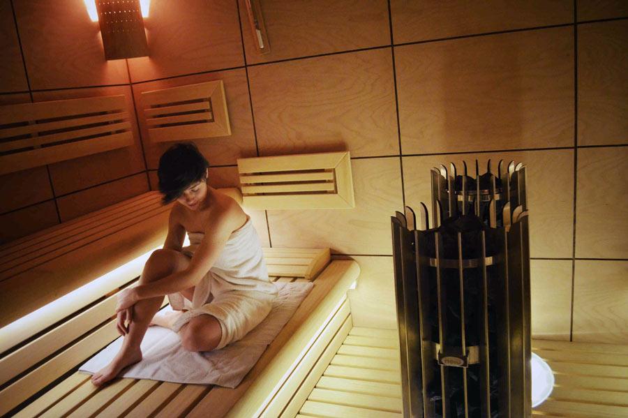 centro benessere Levico: sauna