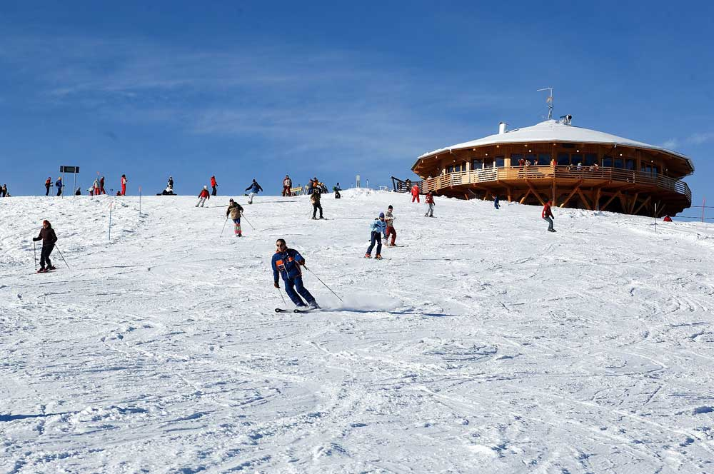 Lake Levico, things to do: Lagorai in winter