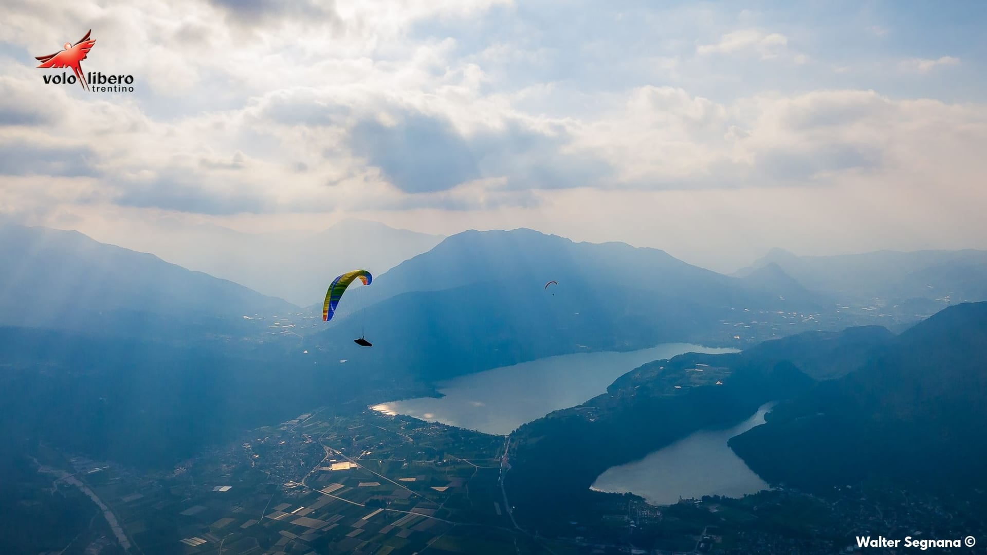 paragliding in Trentino