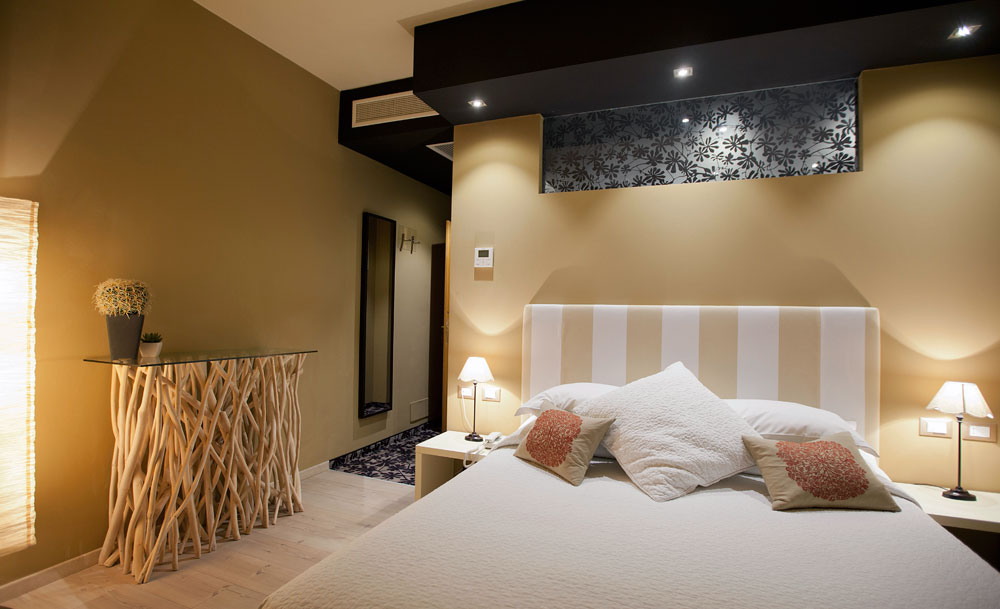 superior room with view of lake Levico