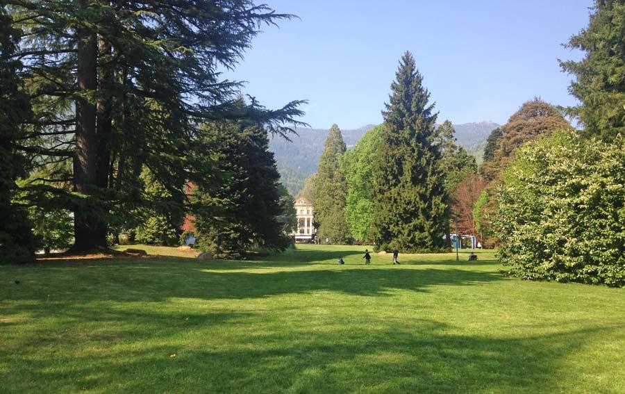 Levico Terme, parco asburgico