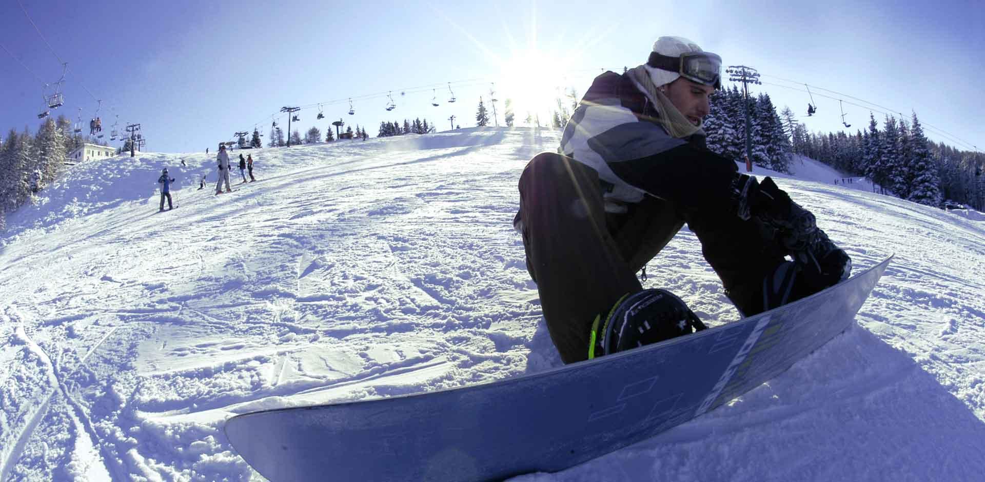 Snowboard Panarotta