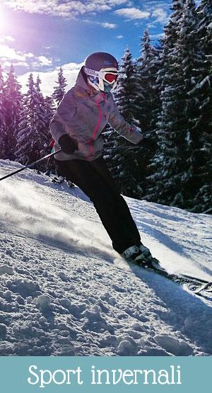 cosa fare a Levico Terme: sport invernali