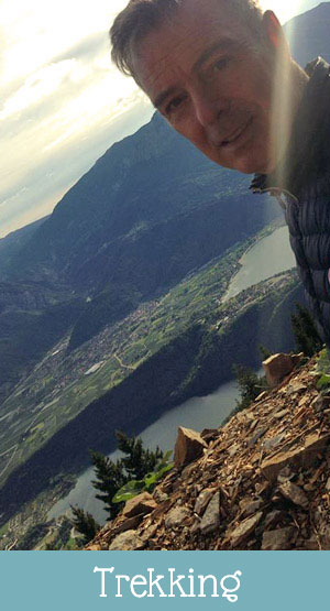 Lake Levico, things to do: trekking