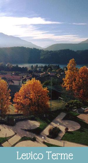 Levico Terme, the village